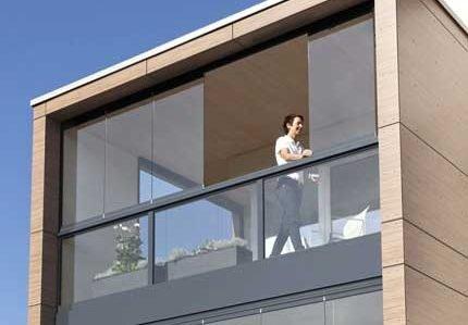 Verande per balconi Milano foto 3