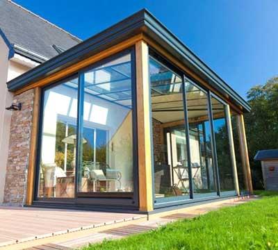 Veranda esterna chiusa | serramenti per veranda realizzati in PVC