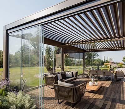 Costo verande in alluminio-legno