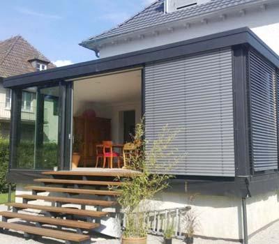 Vantaggi e svantaggi delle verande in alluminio